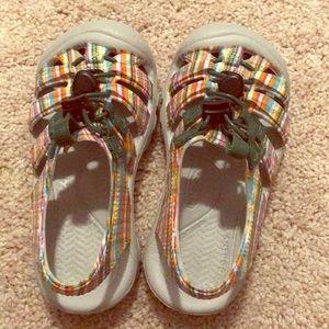 Never worn keen sandals